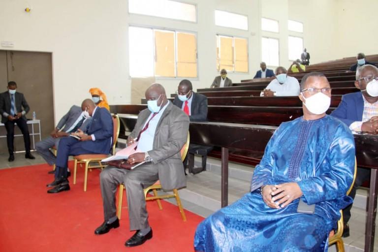 Le Ministre Adama Diawara parle et rassure les syndicats du Supérieur