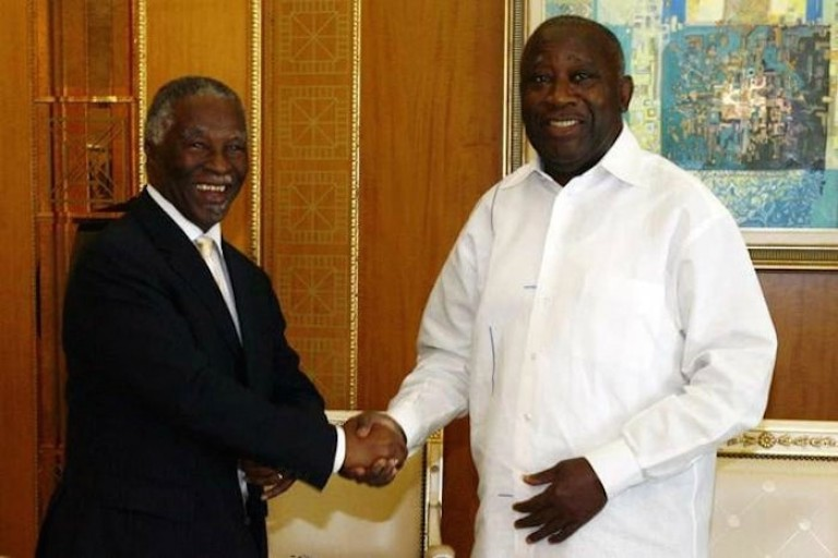 Thabo Mbeki s'active pour le retour de Gbagbo en Côte d'Ivoire