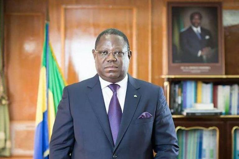 Emmanuel Issoze Ngondet, ancien PM gabonais, décédé