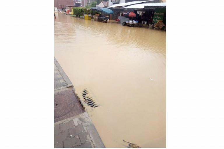 La pluie diluvienne