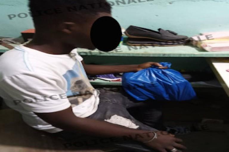 Bondoukou, un vendeur de café dealer arrêté