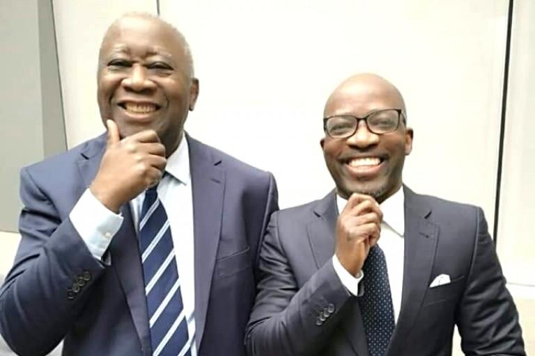 Laurent Gbagbo apporte son réconfort à Charles Blé Goudé