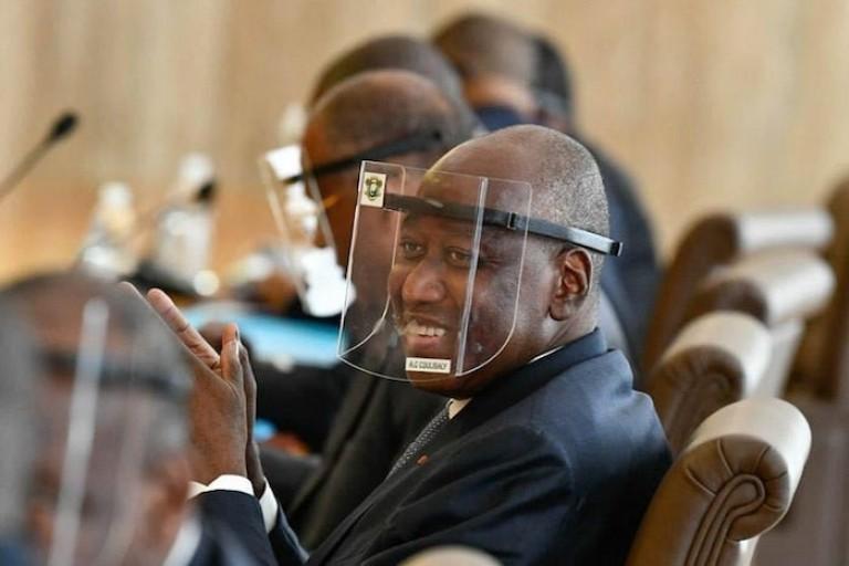 Amadou Gon Coulibaly à son dernier Conseil des ministres