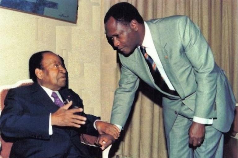 Histoire des Premiers ministres, Félix Houphouët-Boigny et son Alassane Ouattara