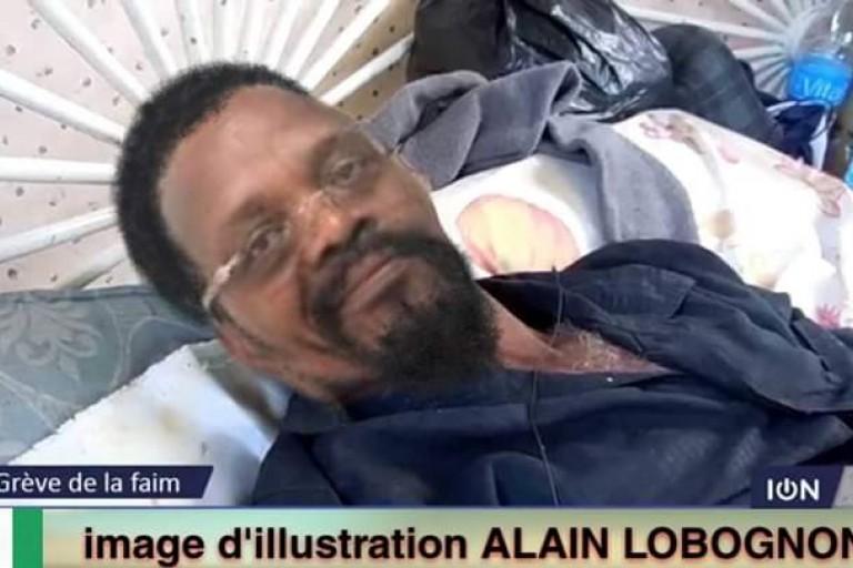 Alain Lobognon en grève de la faim