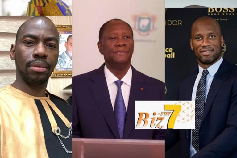 Makosso dévoile la marmaille contre Drogba