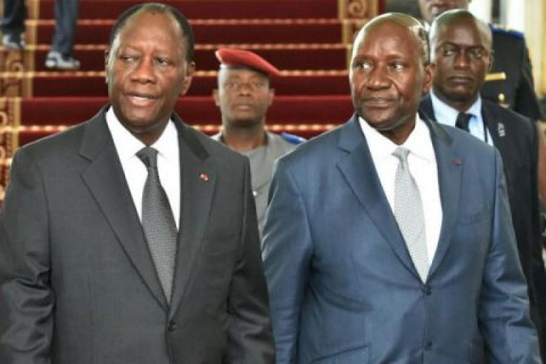 Daniel Kablan Duncan remet sa démission à Alassane Ouattara