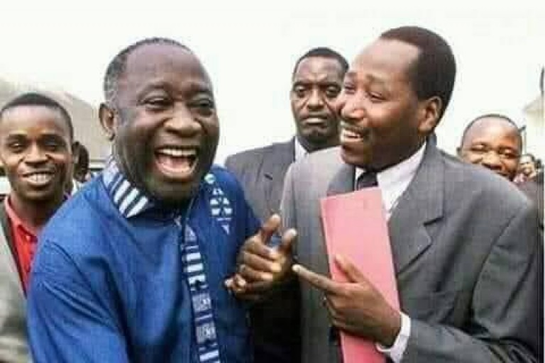Gbagbo pleure Amadou Gon, son ex-compagnon de lutte
