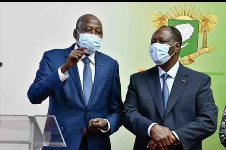 Amadou Gon de retour à Abidjan totalement requinqué mais…