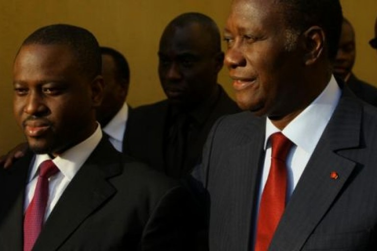 Guillaume Soro et Alassane Ouattara, le torchon brule