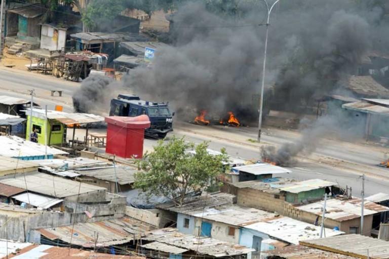 Le régime dénonce des manifestations