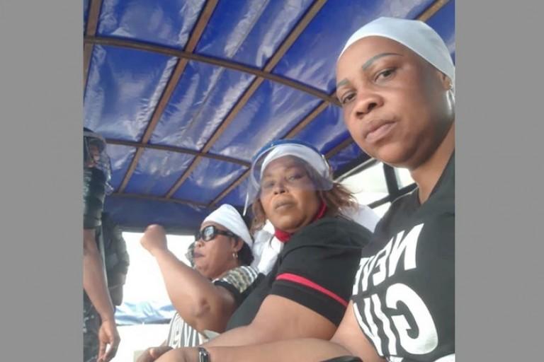 Des femmes leaders de GPS, Affoussy BAmba indignée