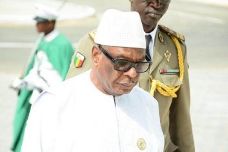 Ibrahim Boubacar Keita est rentré chez lui