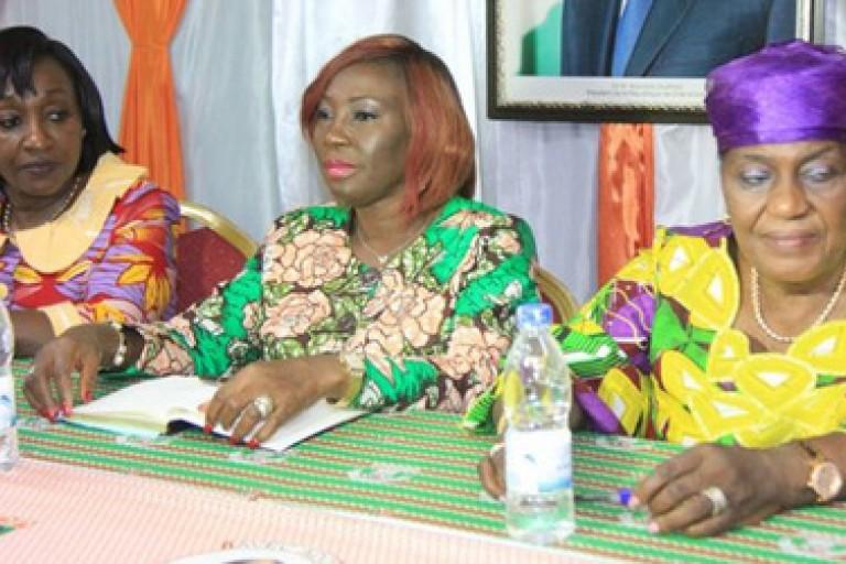Kandia Camara et Anne Ouloto mobilisent les femmes pour la victoire d'ADO