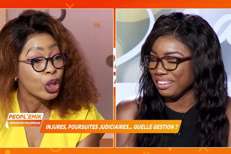 Chaude empoignade entre Lolo Beauté et Annie France sur La 3