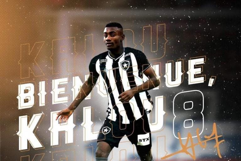 Salomon Kalou est un joueur de Botafogo depuis quelques semaines