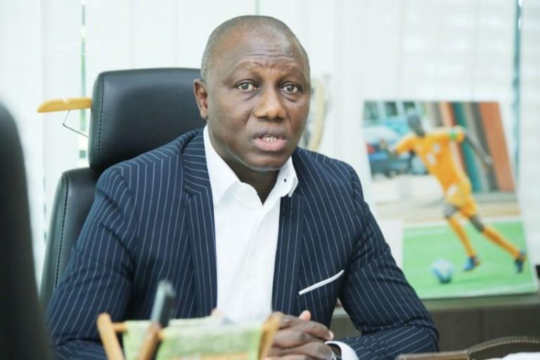 Sory Diabaté a rencontré les autorités de la ville d'Adzopé.