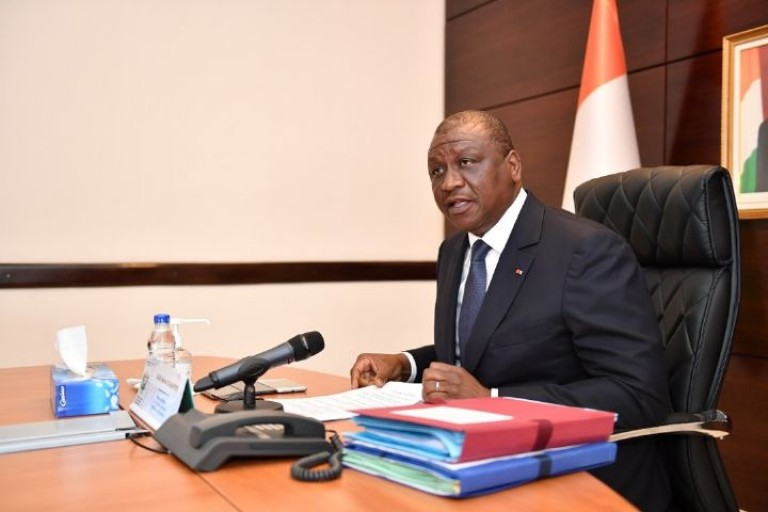 Les membres du gouvernement assurent Hamed Bakayoko de leur soutien