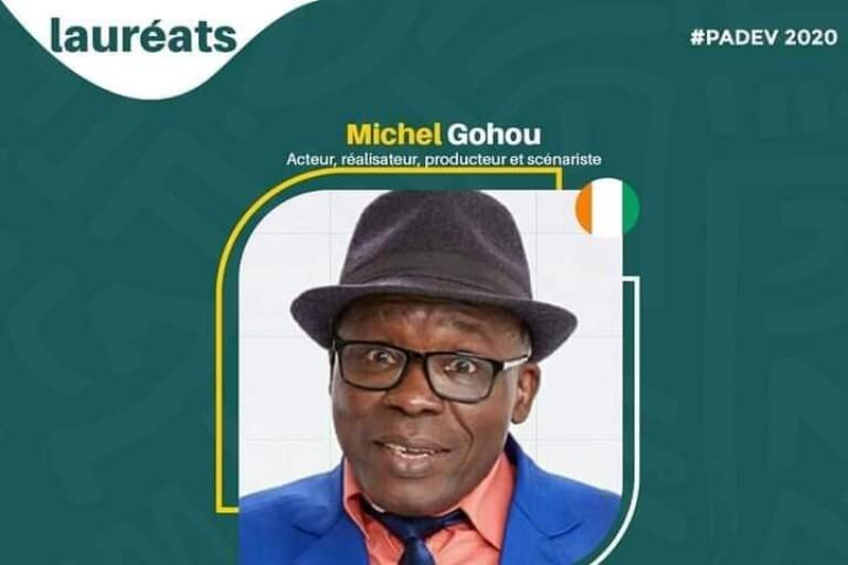 Gohou Michel désigné meilleur humoriste africain