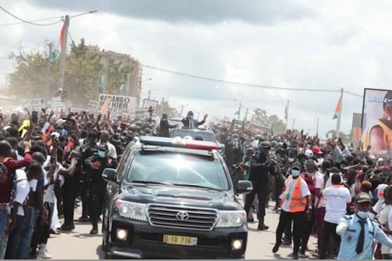 Ouattara dans la marahoué, « Interdiction de levées de corps à la morgue » à Gohitafla
