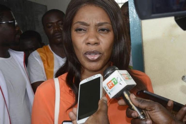 Affoussiata Bamba dénonce la décision du rejet de la candidature de Soro