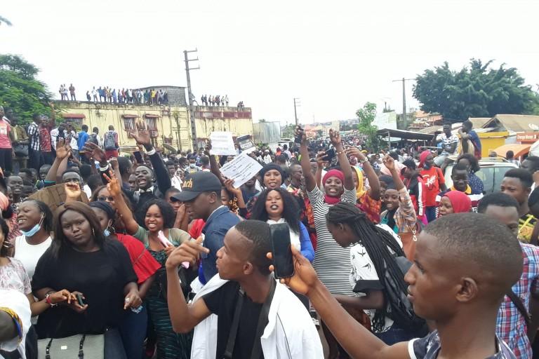Guinée, des étudiants protestent contre la cherté du coût du transport