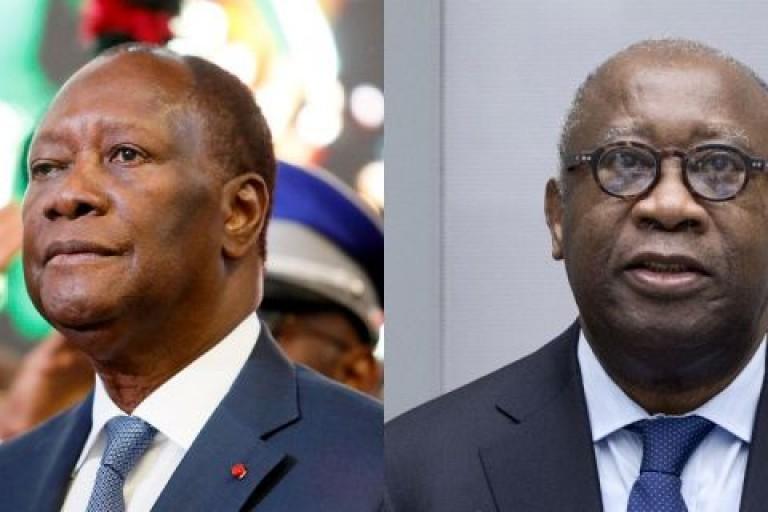 Alassane Ouattara et Laurent Gbagbo, un deal qui tourne mal