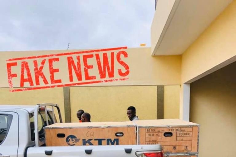 Des armes découvertes au domicile de Kandia Camara ?