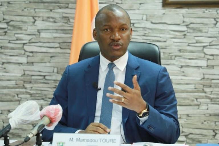 Mamadou Touré répond à Guillaume Soro à propos du réport de la Présidentielle