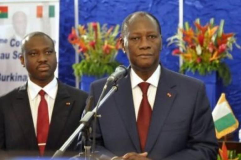 Ouattara: «Soro est un jeune homme enivré par l'argent et le pouvoir»
