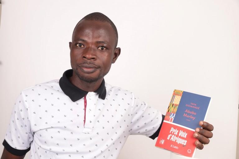 Yaya Diomandé, premier lauréat du prix