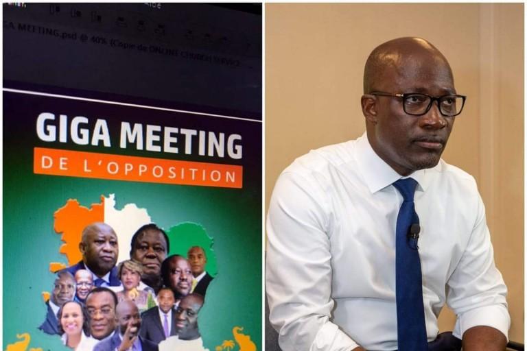 La Haye: En pleine campagne électorale, Blé Goudé parle à Ouattara