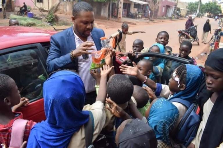 Joël Krasso fait parler son coeur au Mali