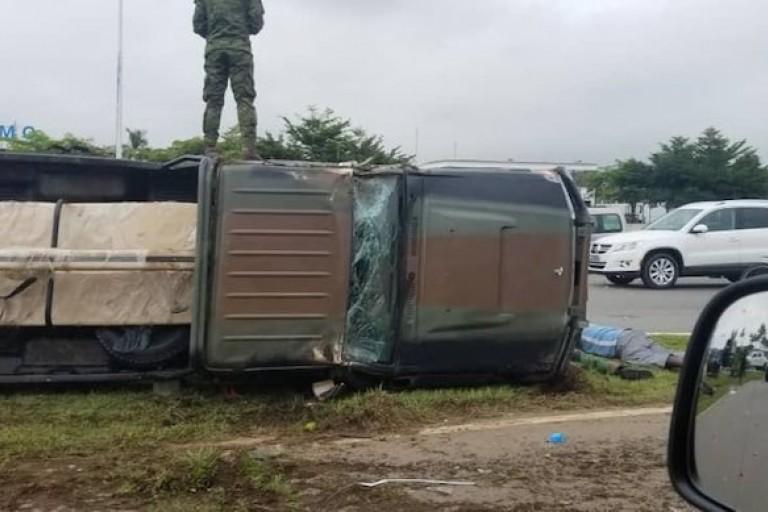 Accident d'un cargo militaire