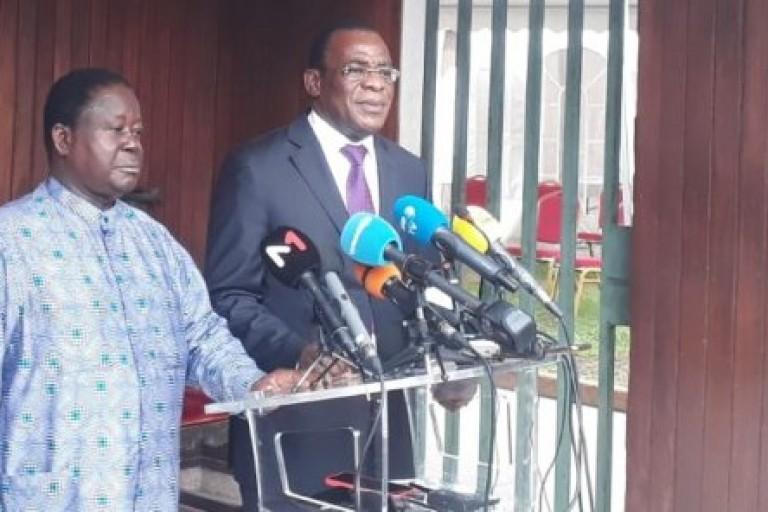 2020 : Affi et Bédié lancent un appel au  boycott  actif