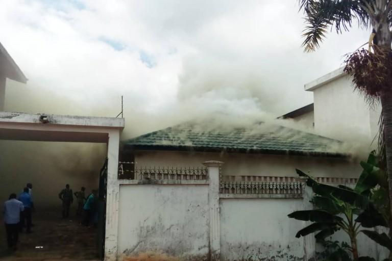 Affi N'Guessan appelle à la désobéïssance civile: Sa résidence brûlée