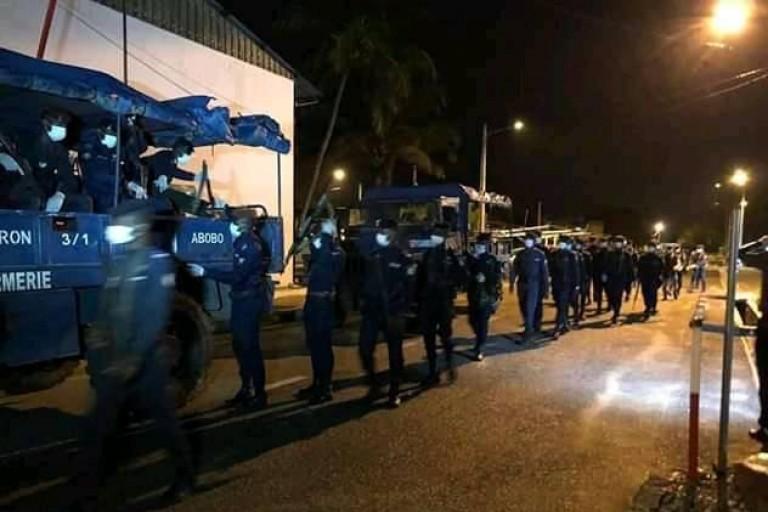 Le couvre-feu reconduit à Dabou du 26 au 30 octobre