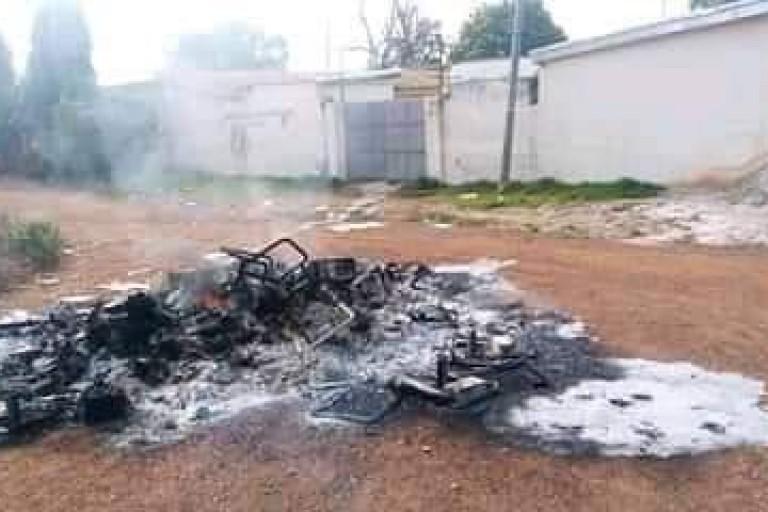 Après Bocanda, le siège local de la CEI de Daoukro, vandalisé