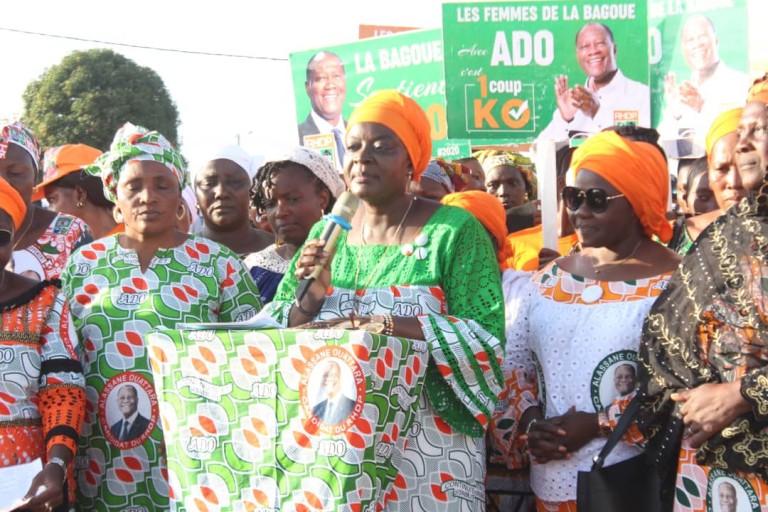 Région de la Bagoué: Les femmes du RHDP promettent une victoire écrasante au candidat Ouattara