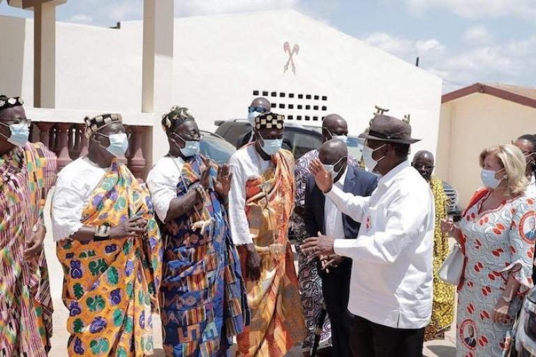 Alassane Ouattara s'offre le soutien des Rois et Chefs traditionnels
