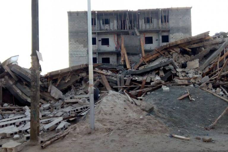 Drame à Yopougon : Un immeuble s'écroule sur une buvette
