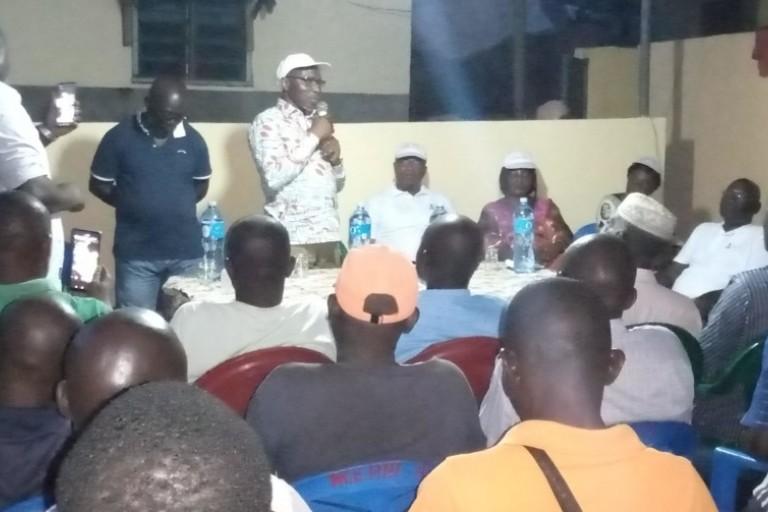 Meité Sindou appelle les jeunes à voter Alassane Ouattara