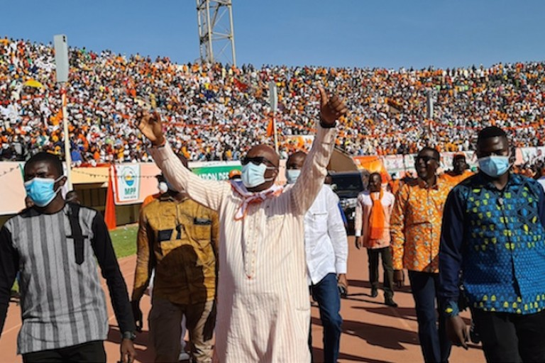 Burkina Faso: Le président Kaboré en tête dans les dépouillement des urnes