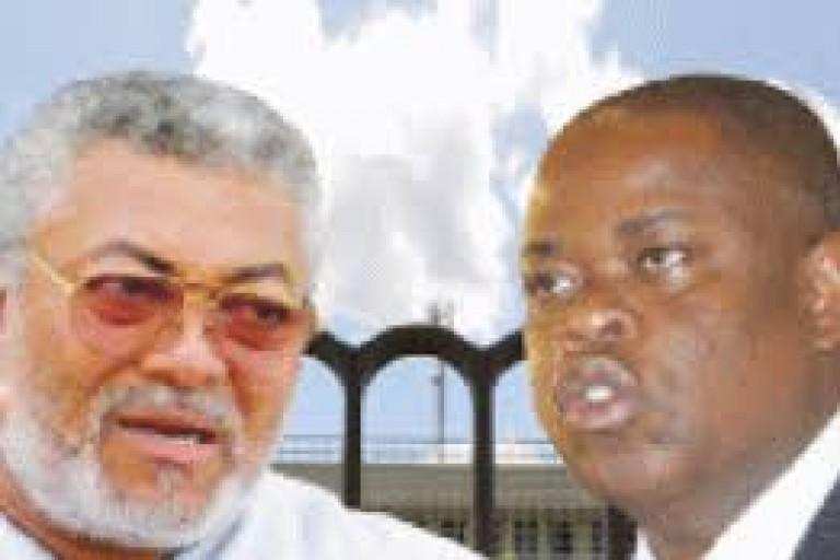 L'émouvant hommage de Koné Katinan à Jerry Rawlings