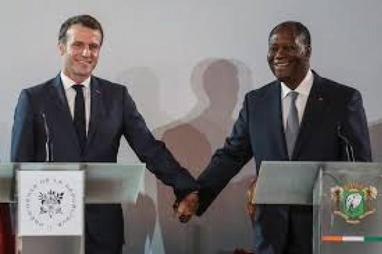 Côte d'Ivoire : Macron