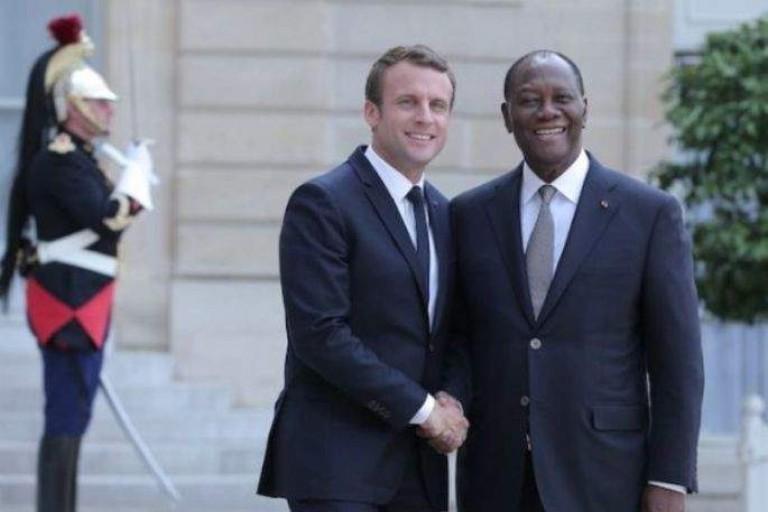 Emmanuel Macron à Ouattara :