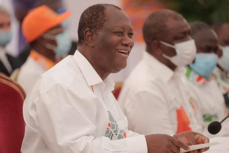 Bataille avec l'opposition : Le RHDP appelle à faire bloc derrière Ouattara
