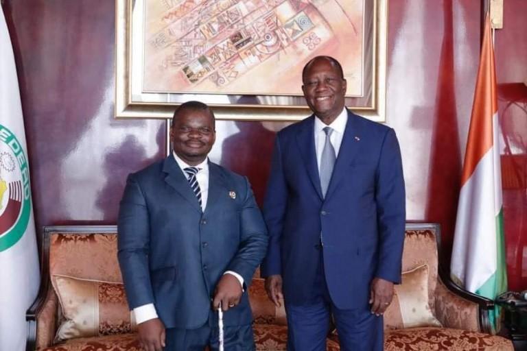 Soro Kanigui reçu en audience par Alassane Ouattara