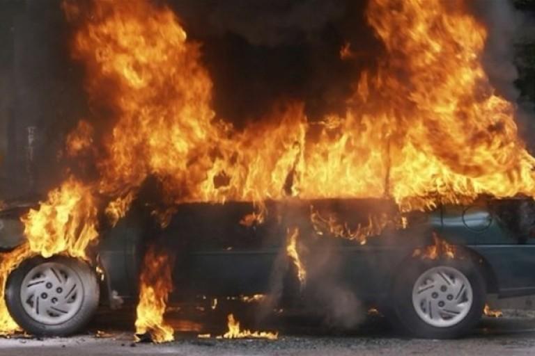 Un véhicule de SMI en feu à Zouan-Hounien