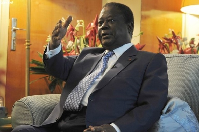Henri Konan Bédié sape la réélection d'Alassane Ouattara